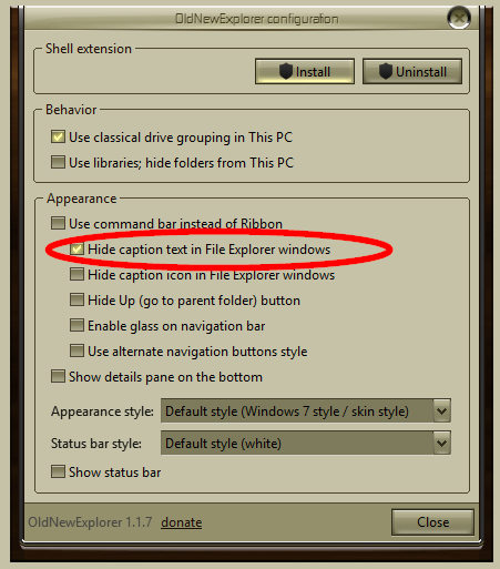 Title bar text gone - Windows 10 Forums