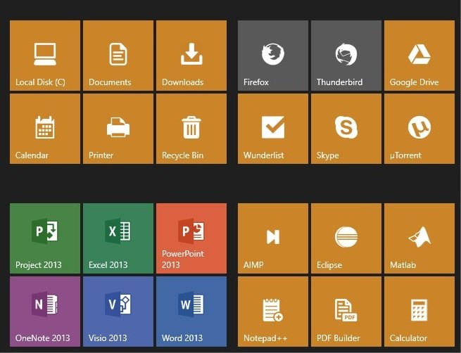 Modify Microsoft Office Icons/Tiles Solved - Windows 10 Forums