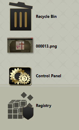 Please help me change the font color of the desktop icons!? And also h-000016.png