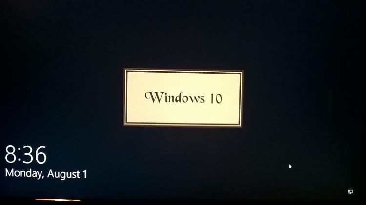 Lock Screen Text Colour - Windows 10 Forums