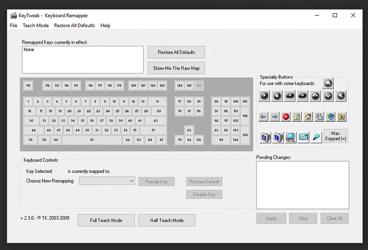 Assign function keys