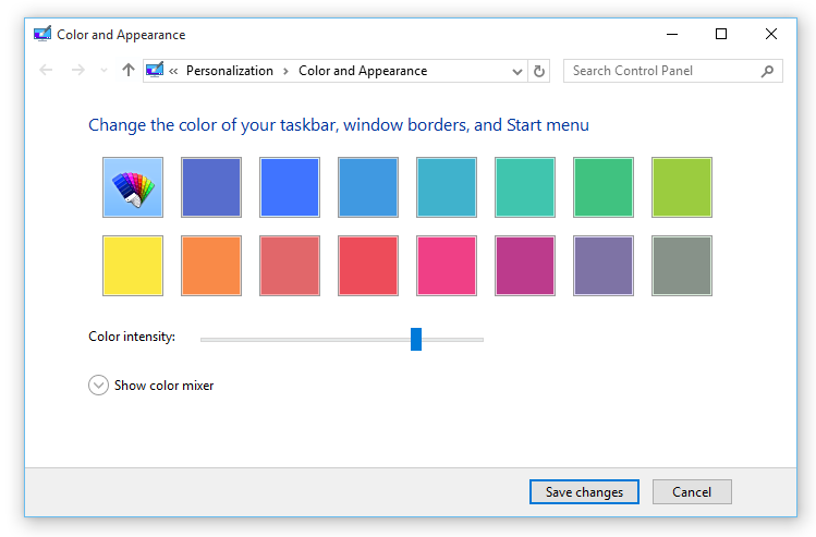 Fainting window border color not possible after anniversary? Tips-change-window-border-color-windows-10_thumb.png
