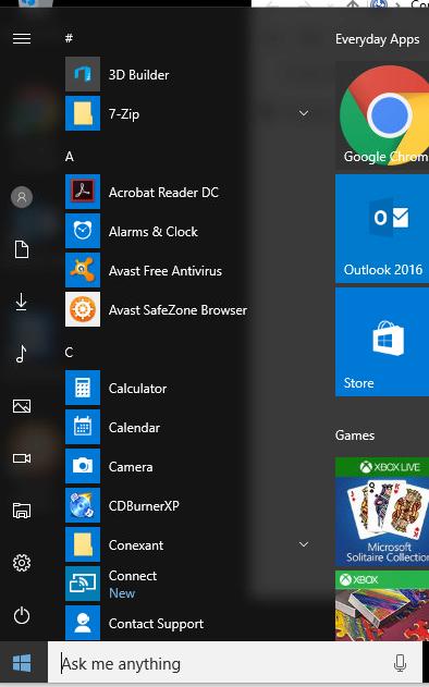 Weird Windows 10 Start Menu change-windows-10-start.png