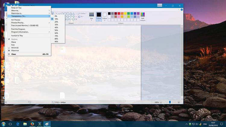 Download system transparency windows 10 pro