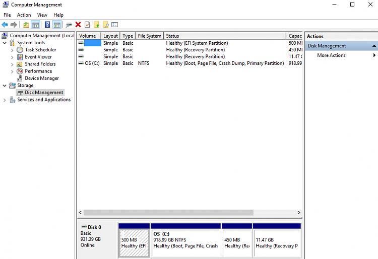 Click image for larger version.  Name:Disk management.png Views:3 Size:38.2 KB ID:102698