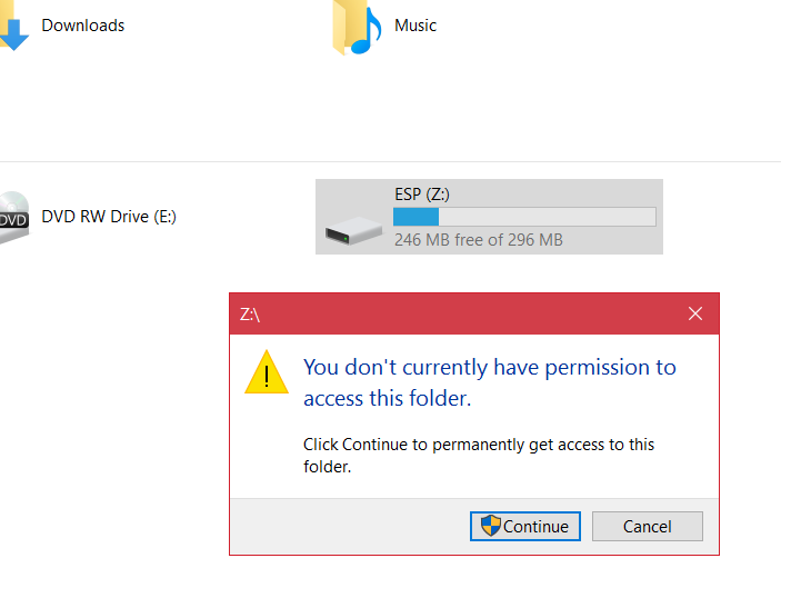 Unknown drive Z: Solved - Windows 10 Forums