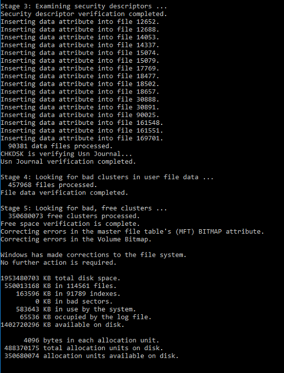 Click image for larger version.  Name:chkdsk stages 3-5.PNG Views:2 Size:44.2 KB ID:109086