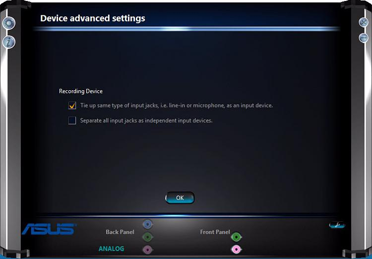 Click image for larger version.  Name:Realtek Device advanced Settings.jpg Views:3 Size:43.4 KB ID:113144