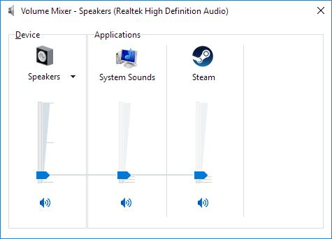 Click image for larger version.  Name:Windows Volume Mixer.JPG Views:78 Size:26.4 KB ID:113311