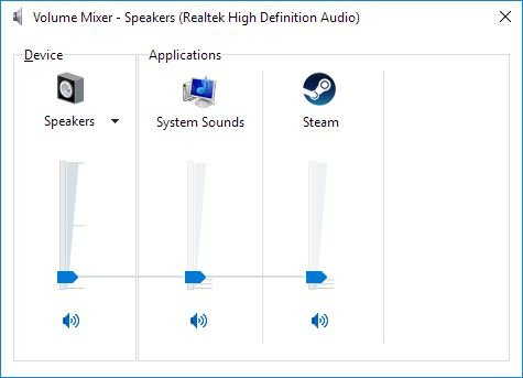 Click image for larger version.  Name:Windows Volume Mixer.JPG Views:81 Size:26.4 KB ID:113311
