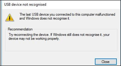 Click image for larger version.  Name:USB device not recognised.jpg Views:19 Size:15.6 KB ID:114334