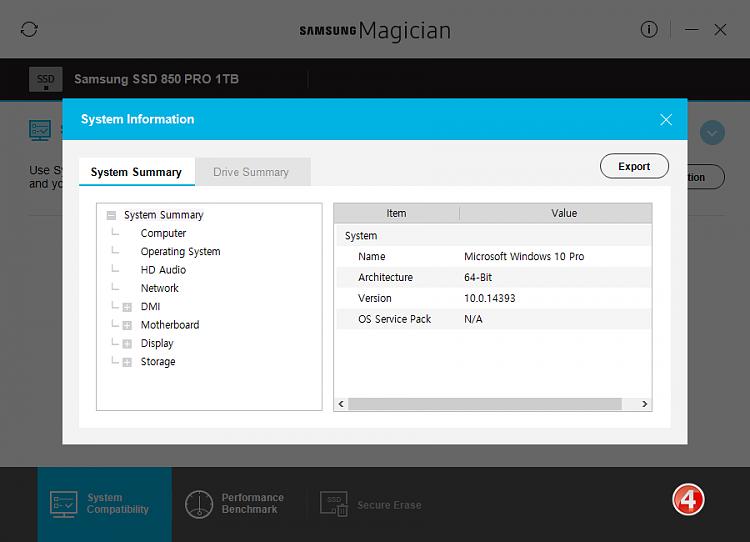Click image for larger version.  Name:Samsung Magician v5.0-Screenshots-04-31012017 073709.png Views:4 Size:36.6 KB ID:119187