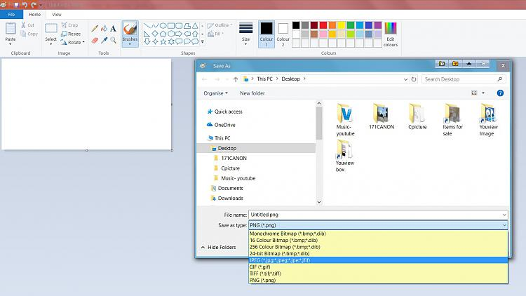 """Microsoft Paint program, Need to mark on """"Picture"""" obtained screenshot-untitled.jpg"""