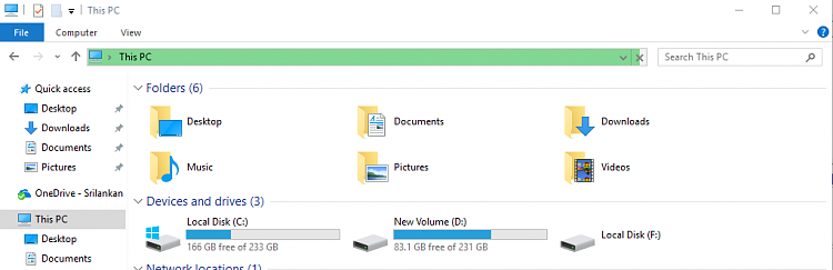External Hard Drive (WD Elements) is visible in PW but not in