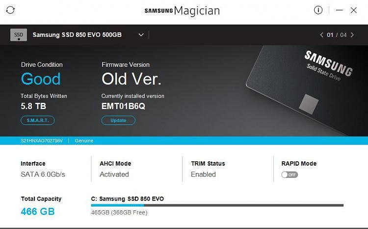Is it safe to do a samsung evo 850 firmware update windows 10 forums.