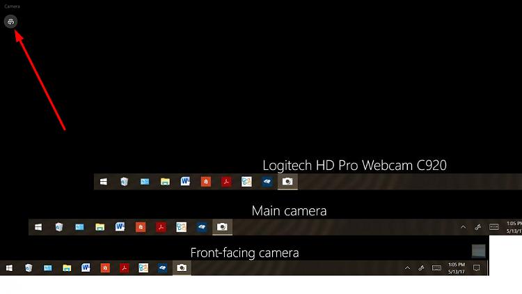 Default Camera - Windows 10 Forums