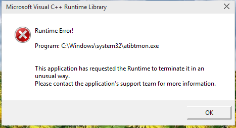 Click image for larger version.  Name:Runtime Error.PNG Views:137 Size:23.9 KB ID:13507