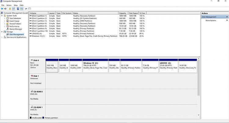 Click image for larger version.  Name:Disk Management.JPG Views:10 Size:201.6 KB ID:139908