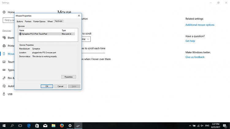 Synaptics Driver Doesn't Work On Windows 10 Pro - Windows 10 Forums