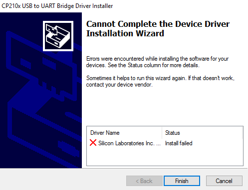 Click image for larger version.  Name:UART driver fail.PNG Views:26 Size:16.2 KB ID:148659