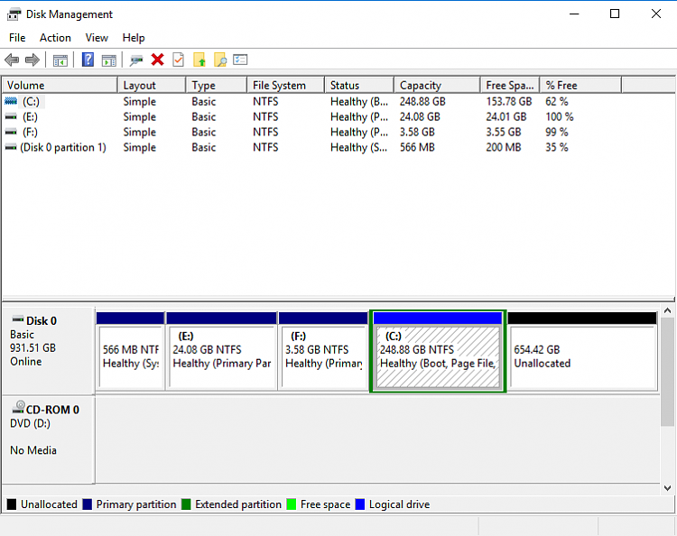 Reset Win10 Home, changed BIOS to enable USB boot, now have 3 drives-disk-management-capture.png