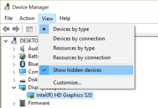 Bluetooth Suddenly Disappeared - from settings & device manager-view-menu.png