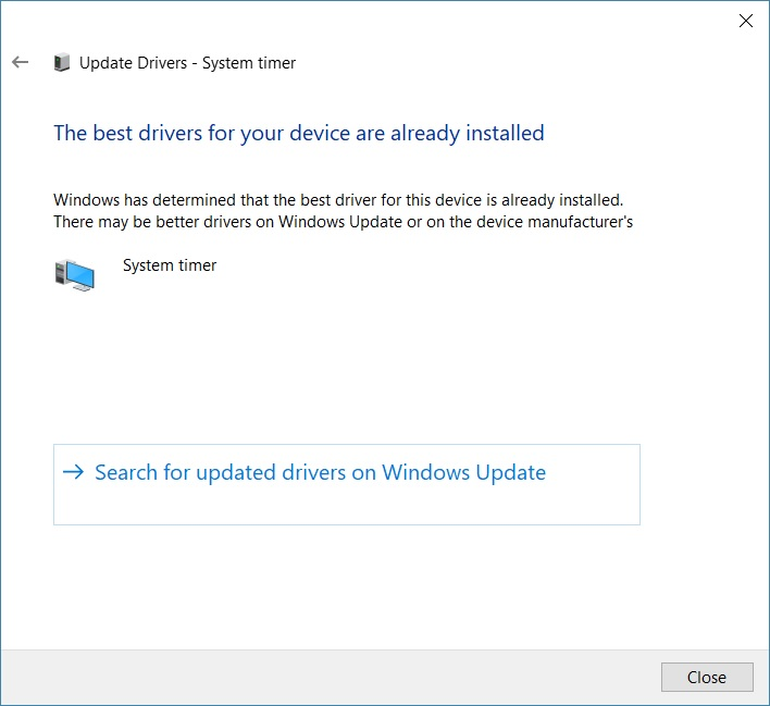 Click image for larger version.  Name:System timer - Best drivers already installed.jpg Views:35 Size:63.7 KB ID:156888
