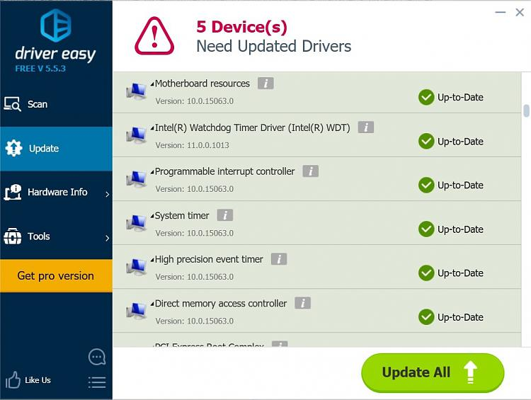 System timer - No drivers are installed for this device-driver-easy-watchdog-timer-driver.jpg