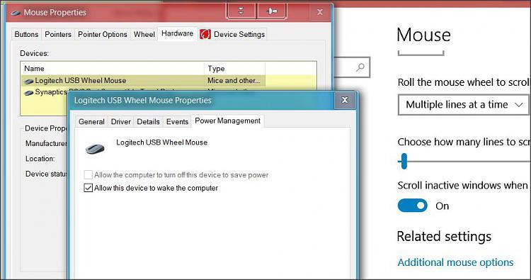 mouse/keyboard wont wake pc - Windows 10 Forums