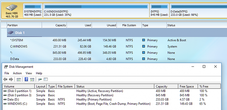 Click image for larger version.  Name:disk usage.PNG Views:1 Size:105.6 KB ID:165147