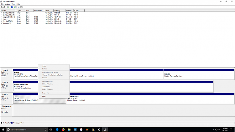Toshiba External Hard Drive triggers NTI EZ on intial boot. - Page 2