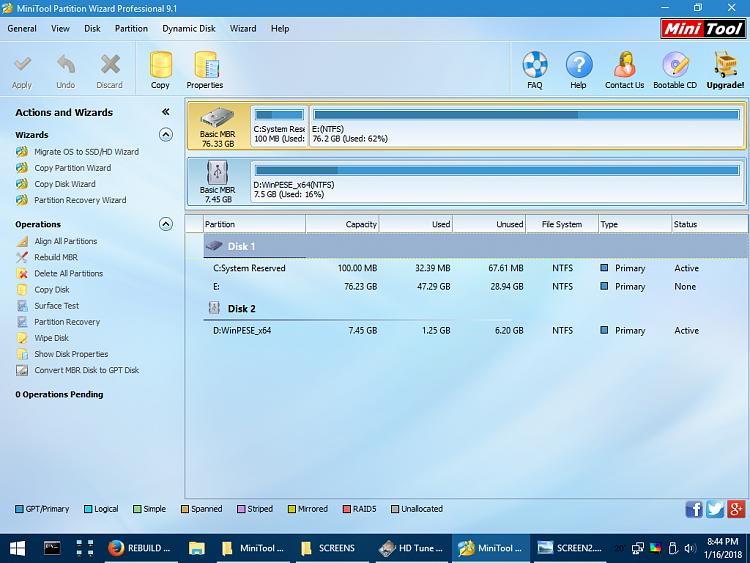 Windows corrupt, main hard drive partition not detected-minitool-screenshot.png