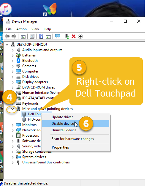 I want to disable touchpad on Dell laptop-2.png