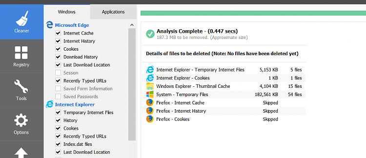 Click image for larger version.  Name:Ccleaner Internet Explorer. today.PNG Views:1 Size:56.2 KB ID:172912