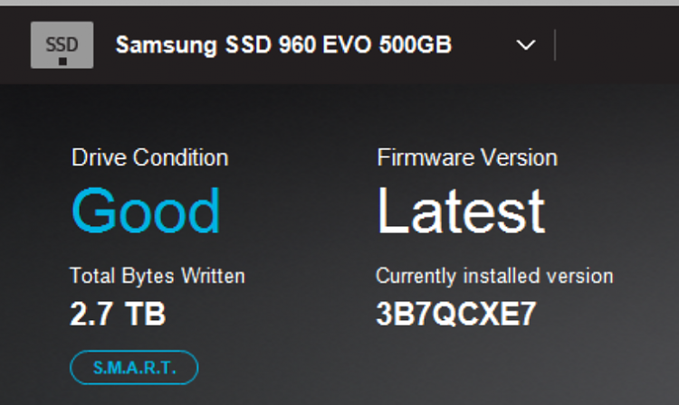 Samsung SSD Firmware Warning - Re: Magician Downloads - Page 2