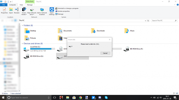 I have an issue with my pendrive  Solved - Windows 10 Forums