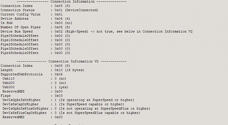 Click image for larger version.  Name:Operating At USB 3 On 5GHZ Mode.PNG Views:4 Size:27.2 KB ID:175228