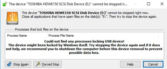 How to force-eject an external drive? - Windows 10 Forums