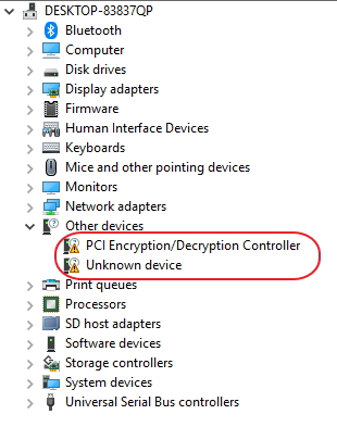 PCI Encryption question Solved - Windows 10 Forums