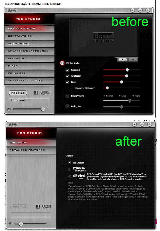Creative Soundblaster Z control panel issue - Windows 10 Forums