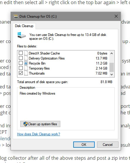 Repeated Crashes and Boot Errors Apparently Caused by Driver Updates-disk-cleanup-2.jpg