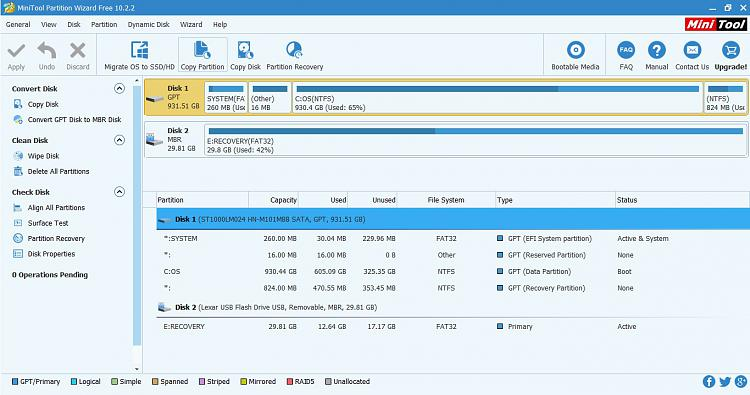 Click image for larger version.  Name:Minitool partition wizard 2.jpg Views:3 Size:179.5 KB ID:181287
