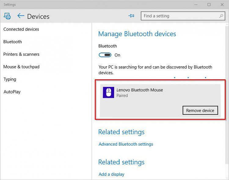 Can't pair Lenovo Bluetooth mouse and keyboard - Windows 10 Forums