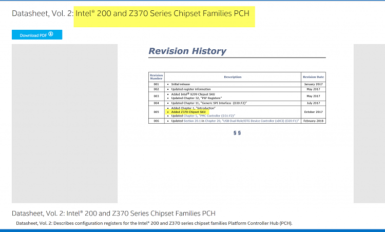 Latest Intel Chipset Device Software - Page 25 - Windows 10