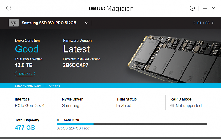 Click image for larger version.  Name:Samsung Magican today.png Views:2 Size:283.4 KB ID:184977