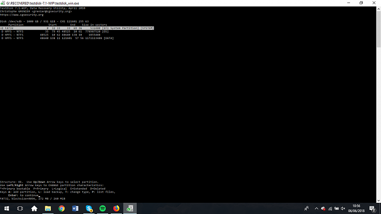 Click image for larger version.  Name:testdisk 1.png Views:4 Size:70.9 KB ID:191249