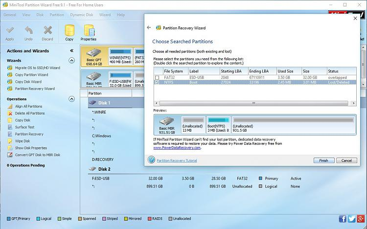 External Hard drive formatted / deleted while installing windows 10-powertool-9.1-scan-results-4.jpg