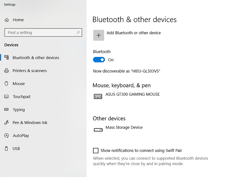 Can't remove paired bluetooth devices in Windows 10