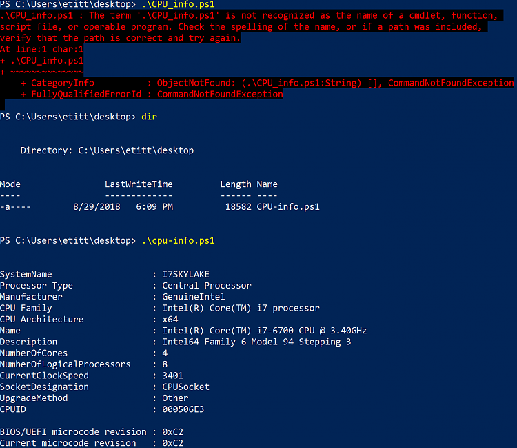 PowerShell script for CPU information, incl. CPUID-image.png