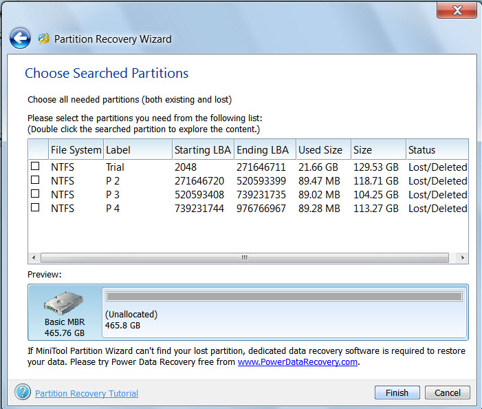 Off Topic for Win 10: Windows 7 Corrupted Partiiton Table